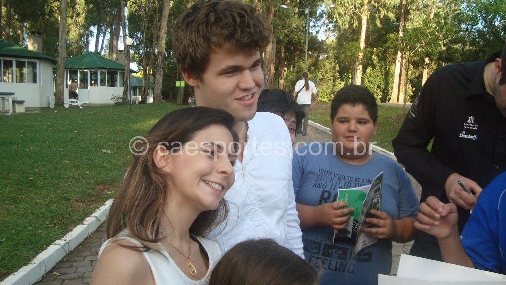 Larissa e Carlsen