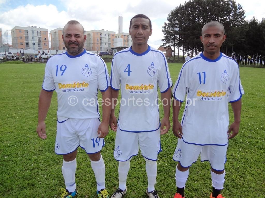 Gordo, Carlos e Buiu-atletas do ADS/Figueirinha