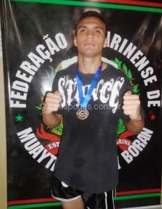 Cleiton Biotega-campeão na categoria 71 PROAM
