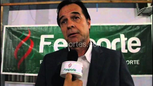 Presidente da Fesporte, Osvaldo Juncklaus, estará nesta quinta-feira (11) em Tubarão
