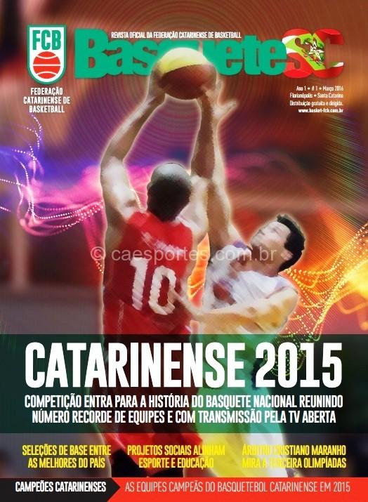 Capa da Revista BasqueteSC