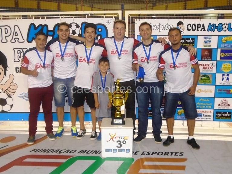 E A Esportes/J C Estamparia -3º lugar