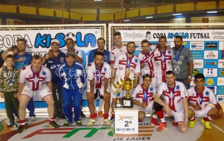 Cruzeiro São Joaquim-Vice-campeão