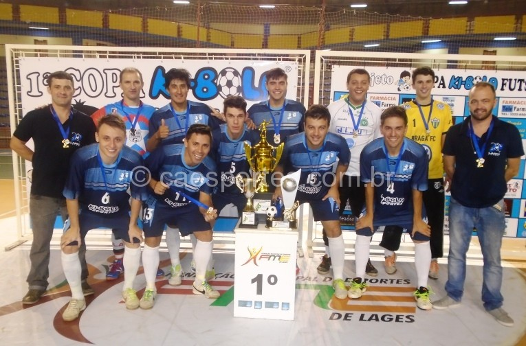 Lages Futsal-campeão