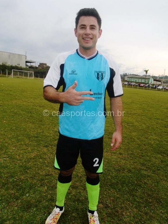 Kuku,foi autor do gol da vitória do vila Maria Sobre a ACBV