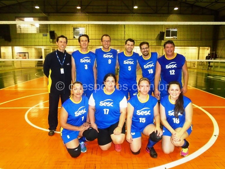 Na última terça feira aconteceu mais a segunda rodada da Copa SESC de Voleibol Misto. As partidas foram disputadas no ginásio do Centro de Atividades da D. Pedro II. Confira os resultados da rodada