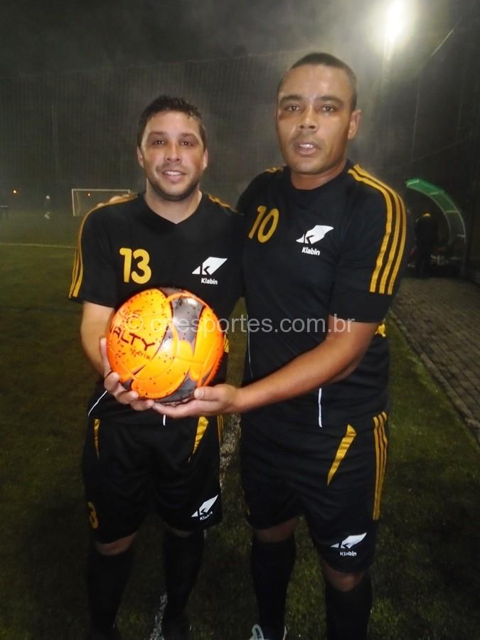 Ronei e Felipe,autores de 3 gols cada,um na vitóra da Klanin