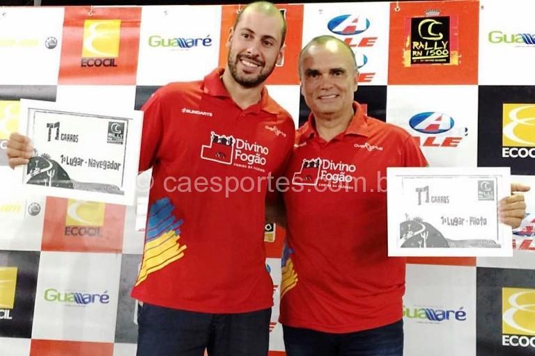 1-Gustavo Gugelmin (E) e Reinaldo Varela (D) venceram cinco de seis corridas (Foto: Donizetti Castilho/DFotos)