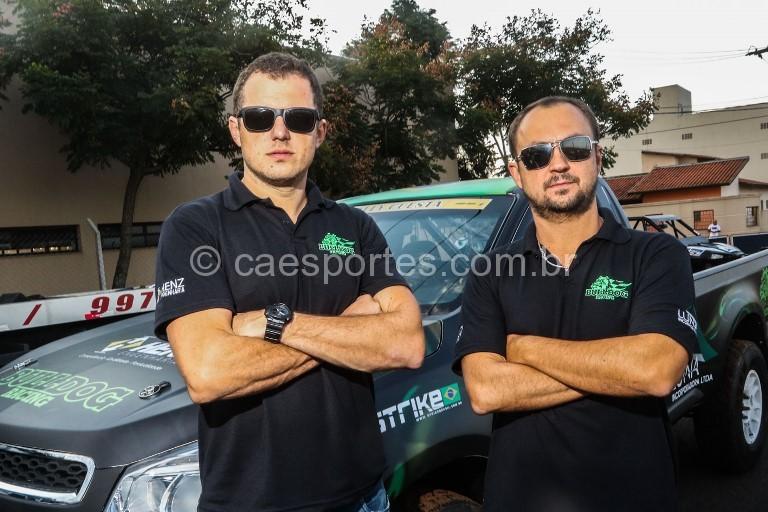 A dupla catarinense, Flávio Lunardi e Fred Budtikevitz, estará em Lages  (Sanderson Pereira/Photo-S Imagens