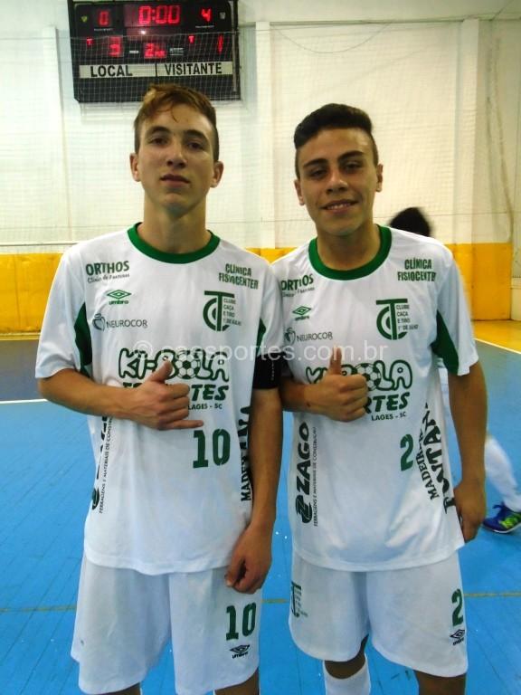 Leandro (2) e Luciano
