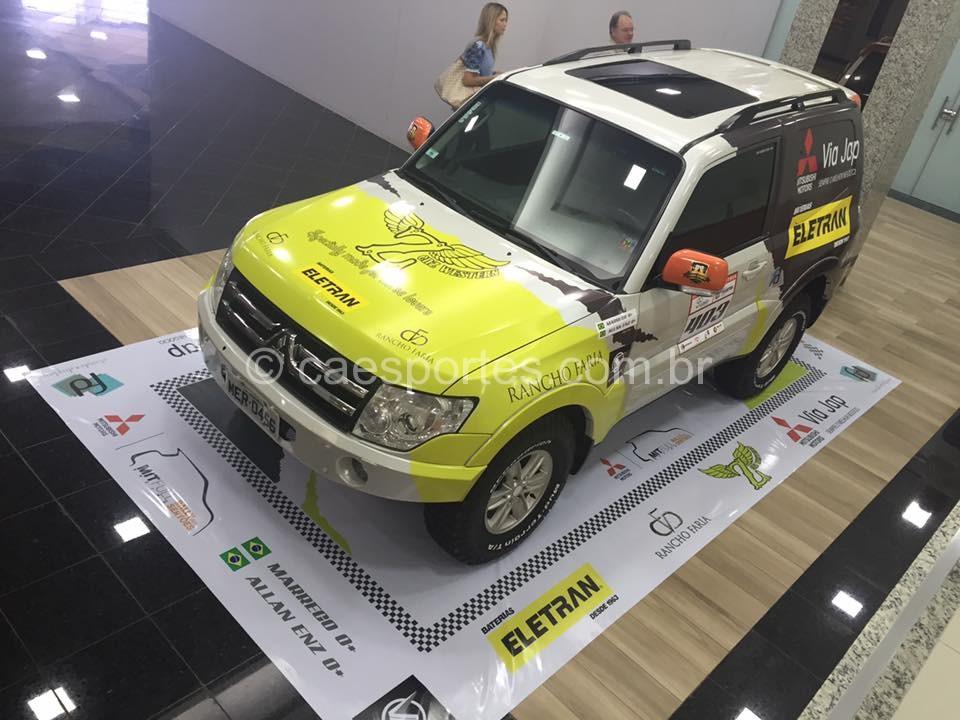 Carro foi apresentado no Centro-Norte Shopping Center, em Apucarana (PR) (Divulgação