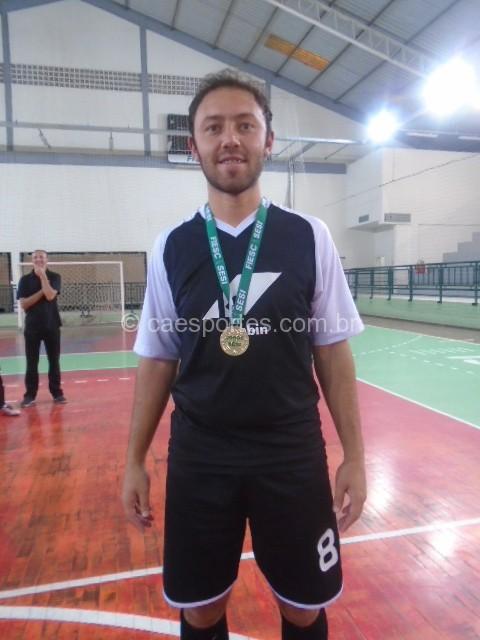 O artilheiro da competição foi Egon Rodrigues da Klabin-OTC com 11 gols marcados.