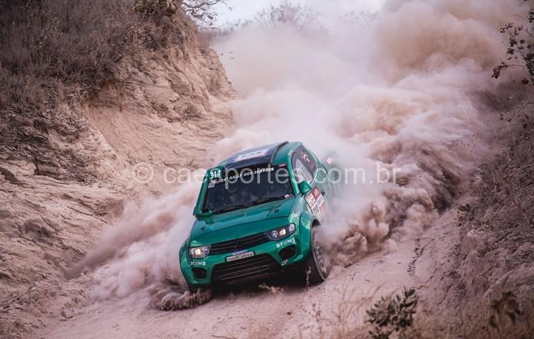 A primeira etapa do Rally dos Sertões foi bastante técnica e perigosa  (Victor Eleutério/Fotop)