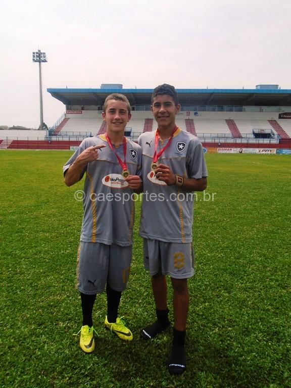 Luiz Felipe e Nicolas-Fizeram os gols do titulo do Botafogo