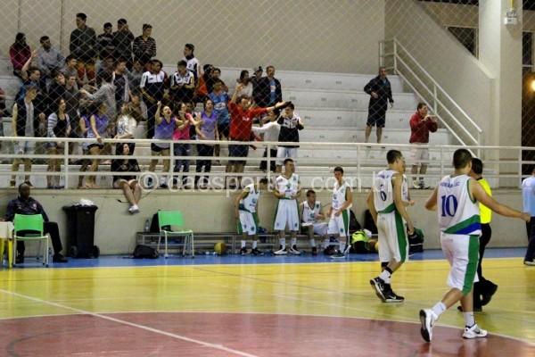 Torcida de Videira compareceu no título regional da equipe na Olesc, em Rio do SulLucas Inácio