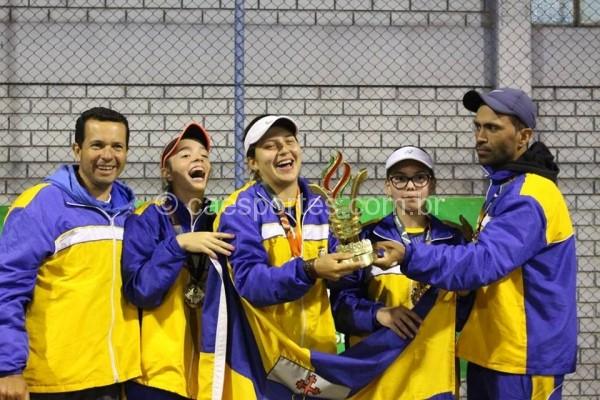 Itajaí volta a ser ouro no tênis feminino dos Joguinhos depois de 5 anos-Lucas Inácio