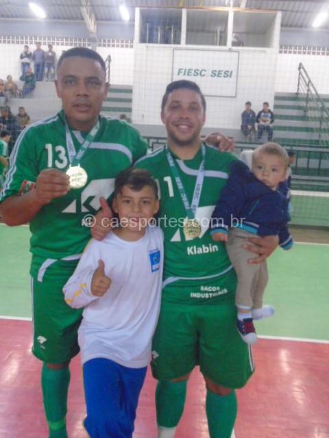 Felipe e Roney-autores  dos gols da klabin