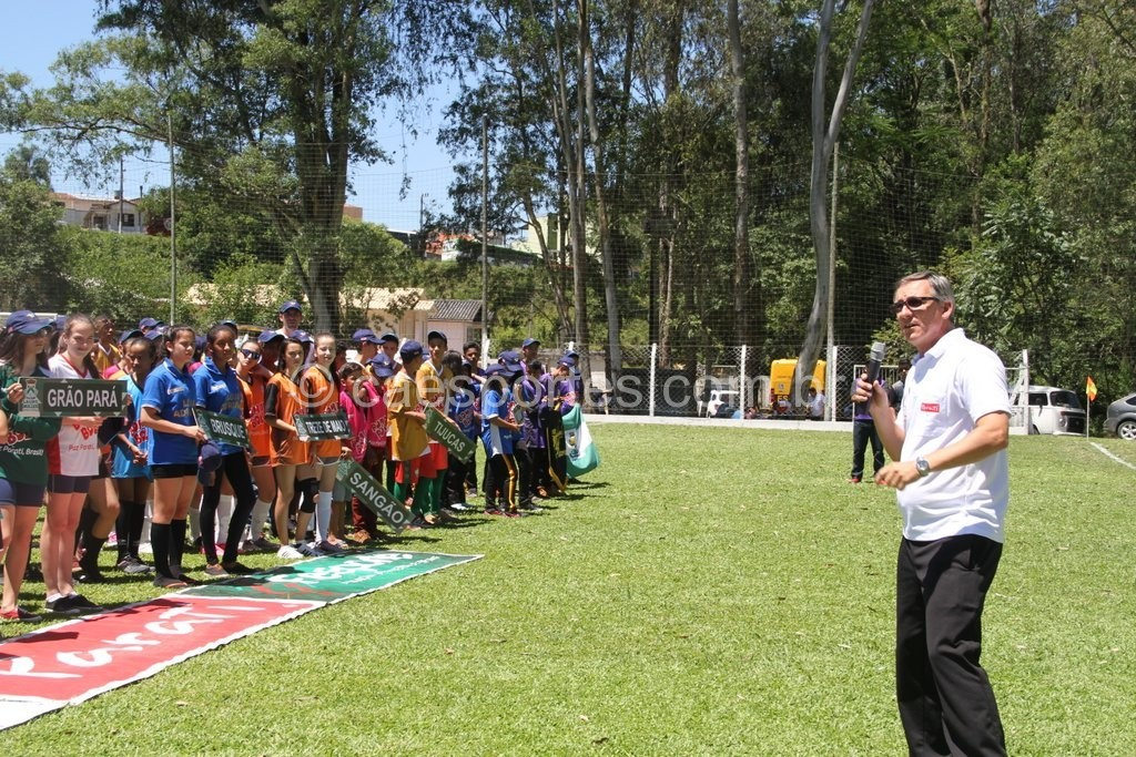 Luís Cruz, da Parati, destacou o processo de integração entre os jovens que caracteriza o evento