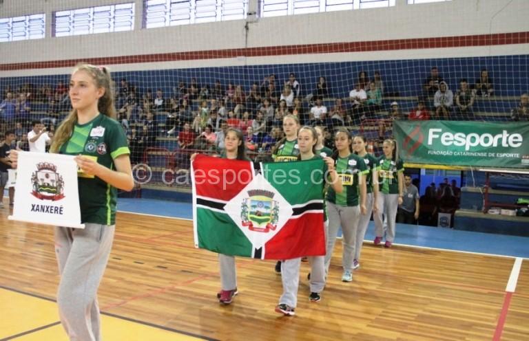 Delegação de Xanxerê trouxe as cores e o escudo da chapecoenseFoto: Antonio Prado