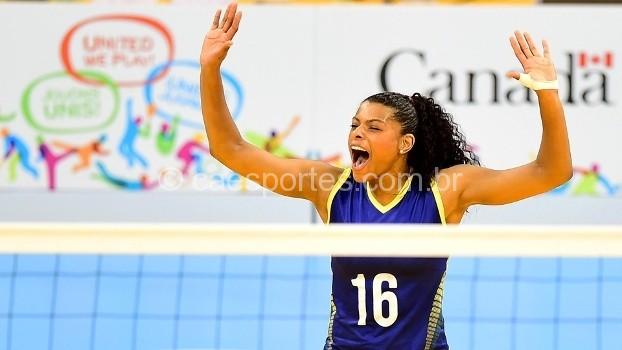 Lages terá mais grande jogo de vôlei nacional - Fernanda Garay
