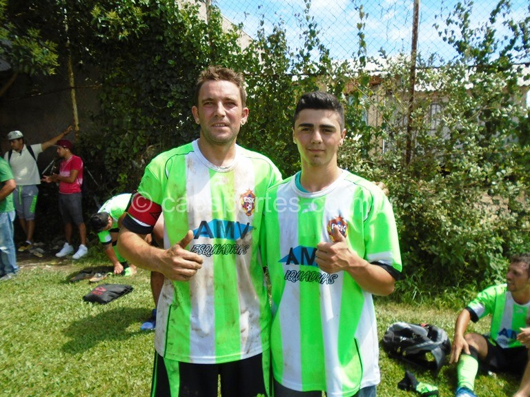Maicom e Bruno _autores dos gols da vitória do CSK