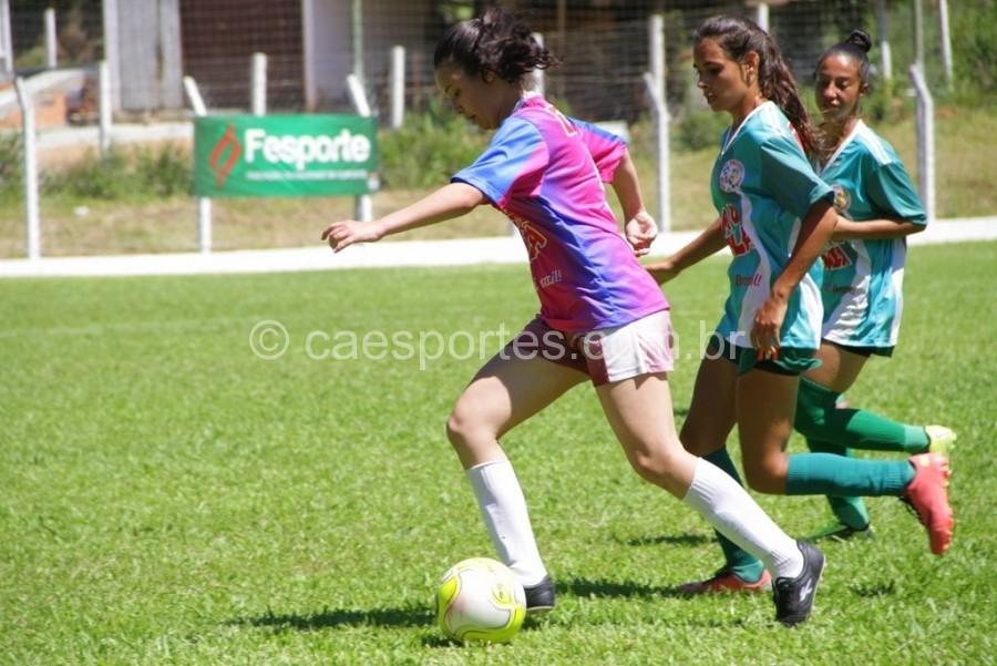 Inclusão nos Jasc fomentará futebol feminino no estadoFoto: Antonio Prado