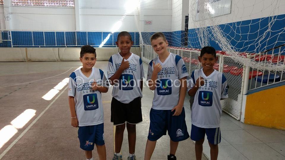 Os guerreiros dá Apabla Lages base do time do Sub 12 que também joga o Sub 13