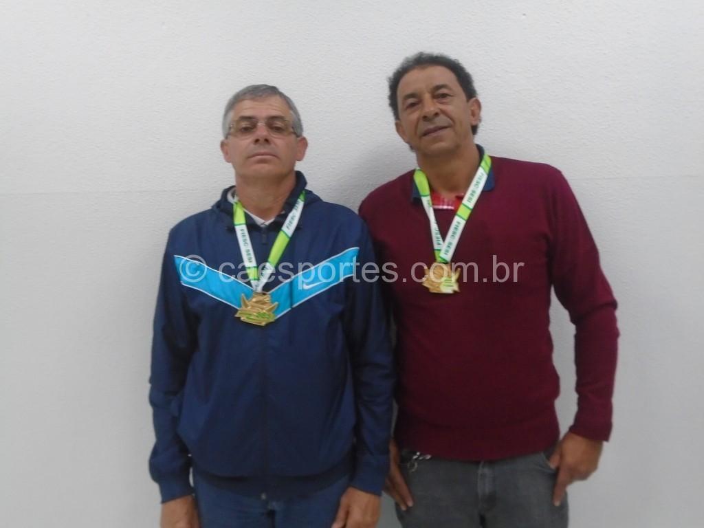 ABCELESC   formada pelos jogadores Orlando e Aldo
