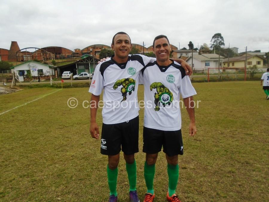Badé e Cristiano- jogadores do Juvenil