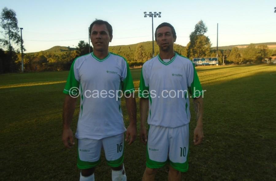 Pato e Alisson,autores dos gols da Madepar