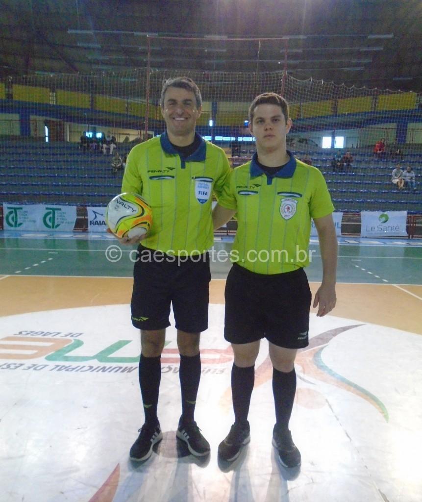 Arbitros-Jean Telles e Chritian