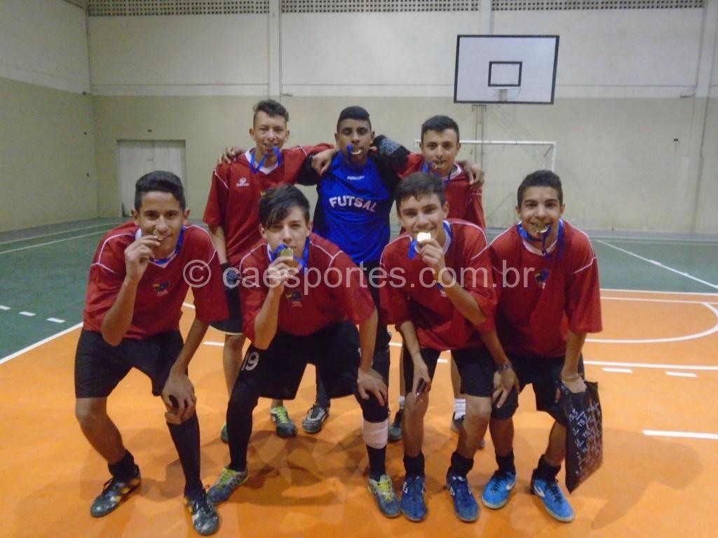 1º ano 2-matutino-campeão do Futsal do Ensino Médio
