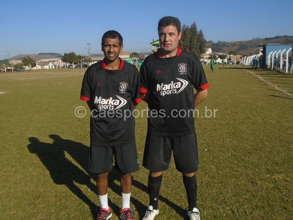 Marino e kel fizeram os gols do empte no tempo normal da equipe do bem Fica