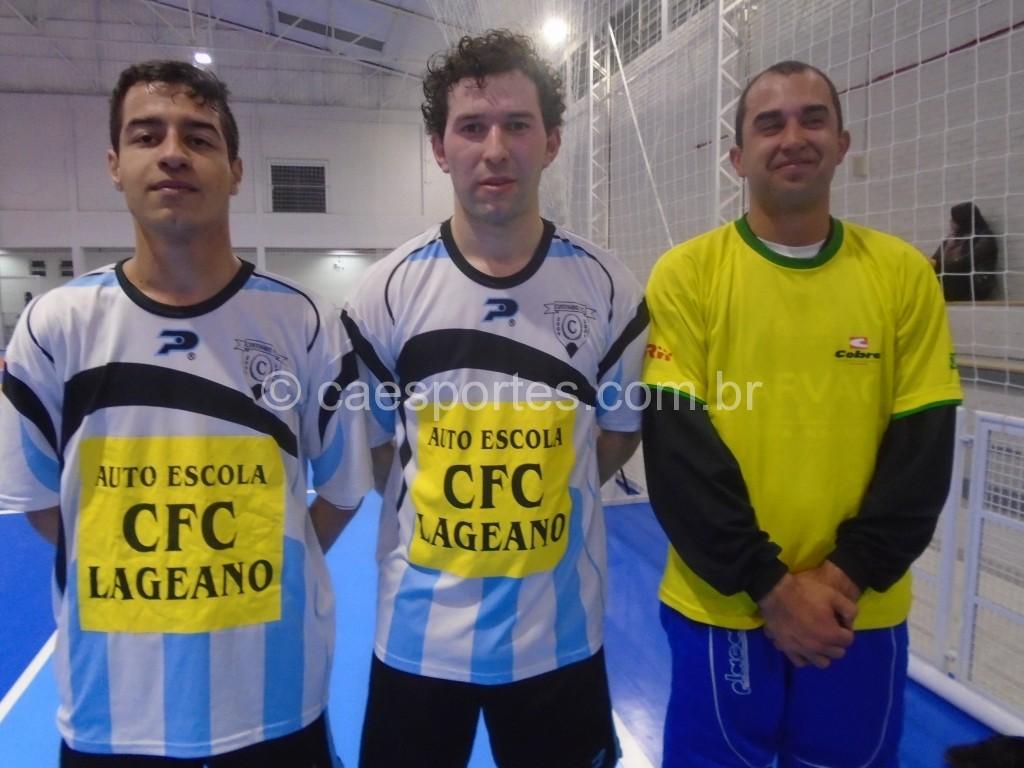 Fabio,Rodrigo e Alexandre-atletas da equipe Martendal