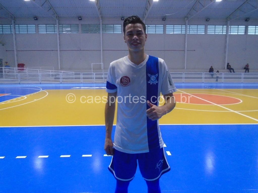 Gabriel segue marcado Gols para a equipe do Mezzaliara