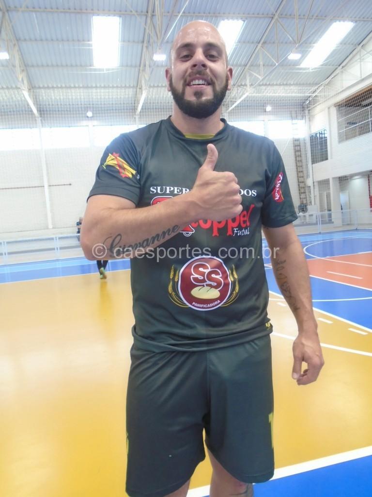 Geovani-autor dos quatro gols que deu a classificação do Kloppel