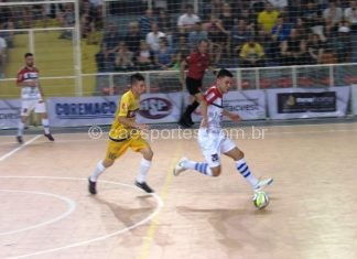 64378d886a Lages Futsal perde para Piratuba